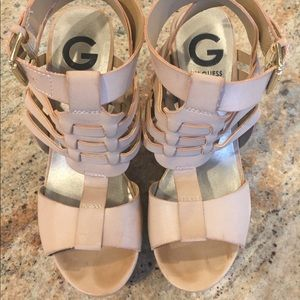 G by Guess Wedge Sandals